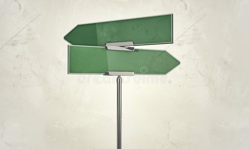 Street sign stock illustration