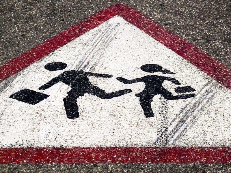 Download Street Sign - Children Crossing Stock Image - Image: 15052791