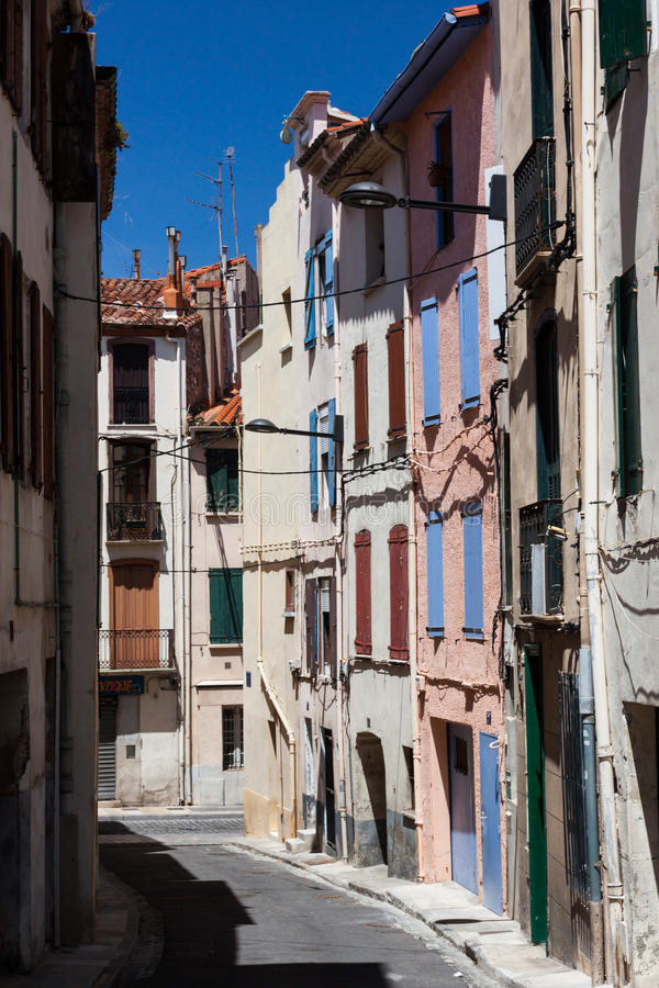 Download A street in Spain stock image. Image of flowers, balcony - 25536323