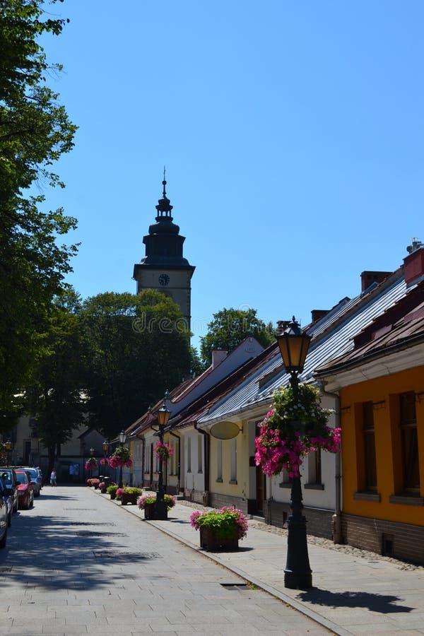 Free Street, Stary Sacz Stock Photos - 102683223