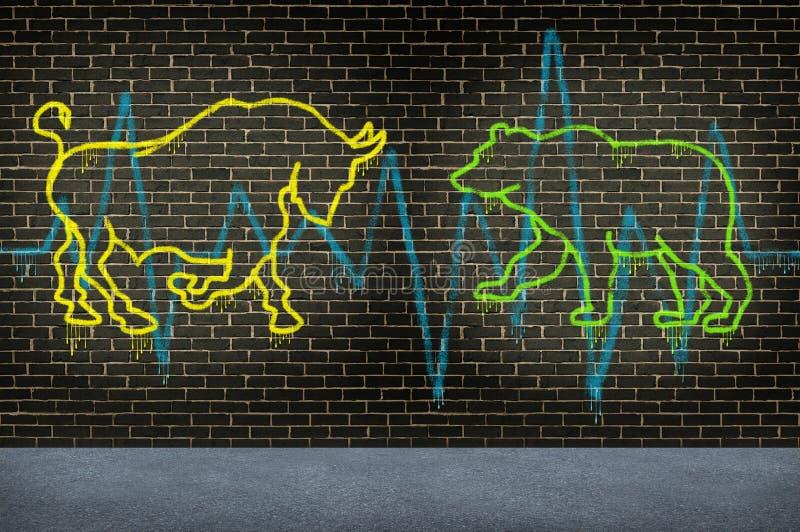 Street Stock Market Advice vector illustration