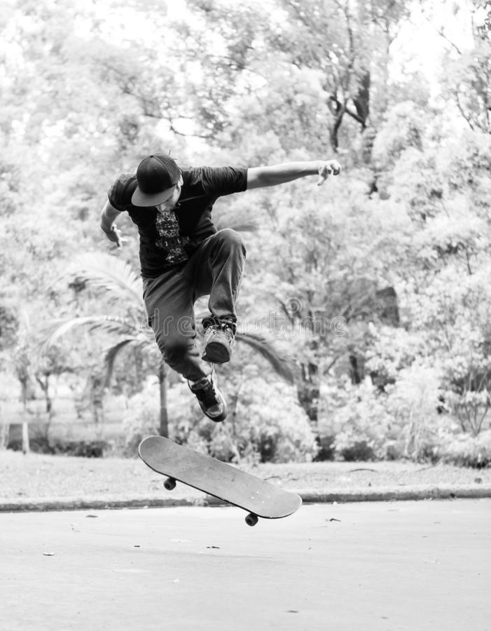 Street Syle Skateboading royalty free stock photo