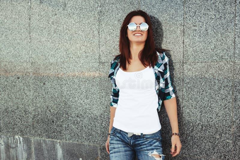 Street teenage outfit stock photos