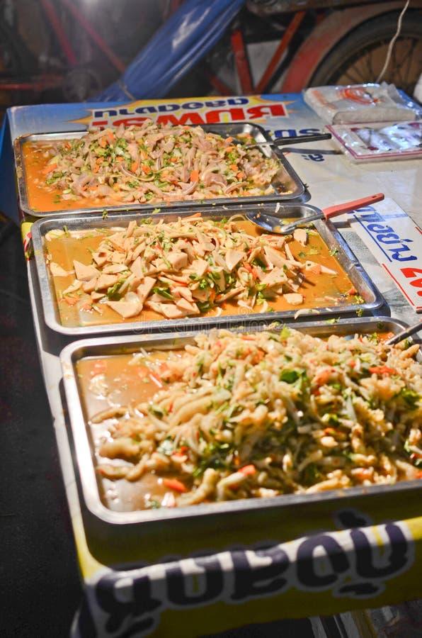 Street Thai food royalty free stock photo