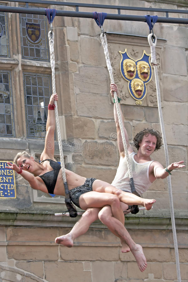 Download Street Theatre Circus Performers Editorial Photography - Image: 15962447