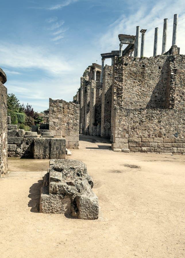 Download Street To Roman Amphitheatre Stock Image - Image: 30493965