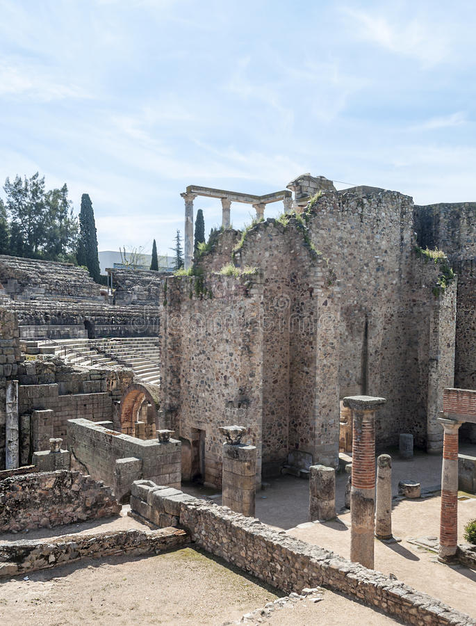 Download Street To Roman Amphitheatre Stock Images - Image: 30494244