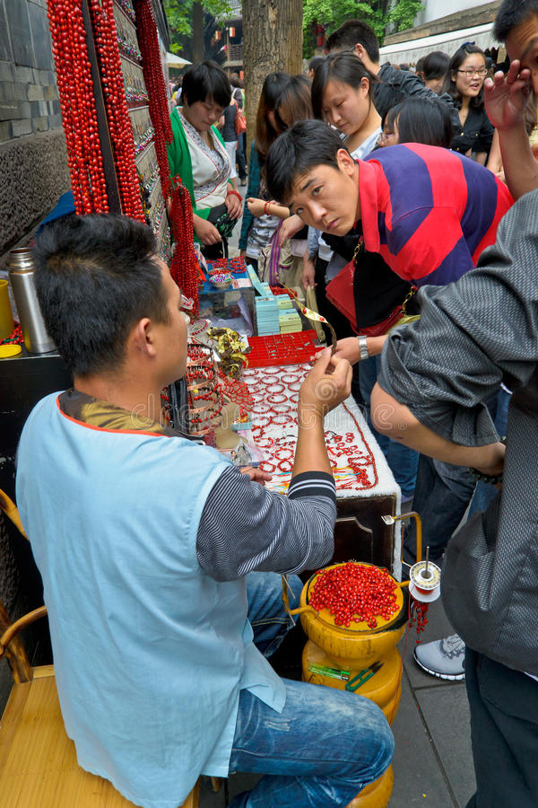 Street trade royalty free stock photography