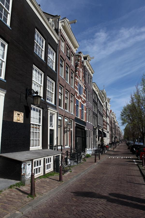 Download Street view in Amsterdam stock photo. Image of style - 19616916