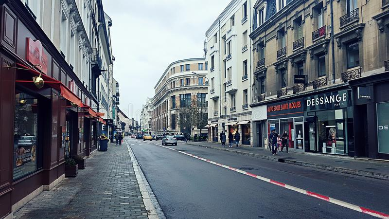Street View in France royalty free stock image