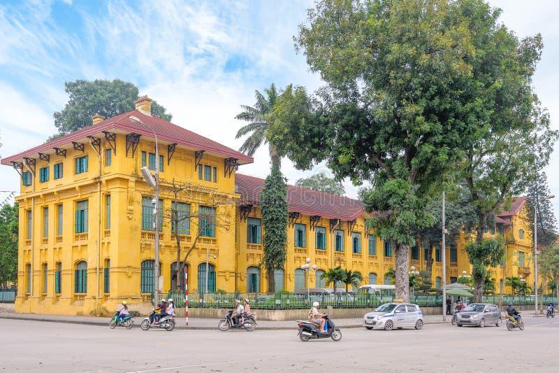 Street view of hanoi royalty free stock image