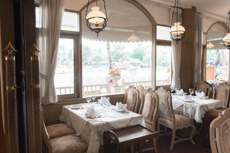 Street View-Restaurant stockbild