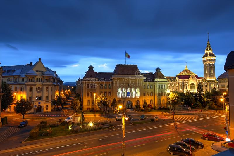 Targu Mures city, Romania royalty free stock photography
