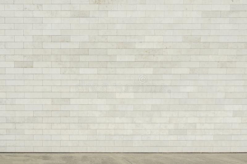 Street wall background, empty gray urban street, Industrial background royalty free stock image
