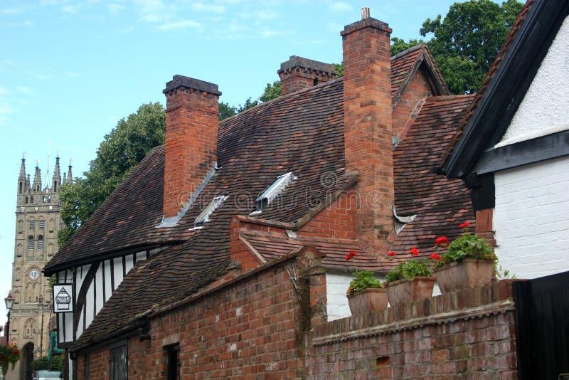 Download Street in Warwick stock image. Image of warwick, castle - 19019329