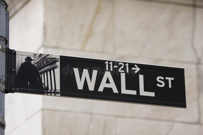 Street-Zeichen stockfoto