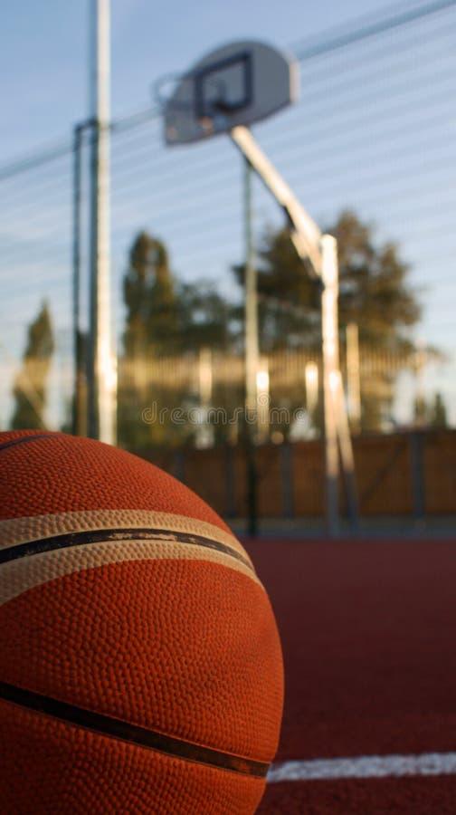 Streetball royalty-vrije stock afbeeldingen