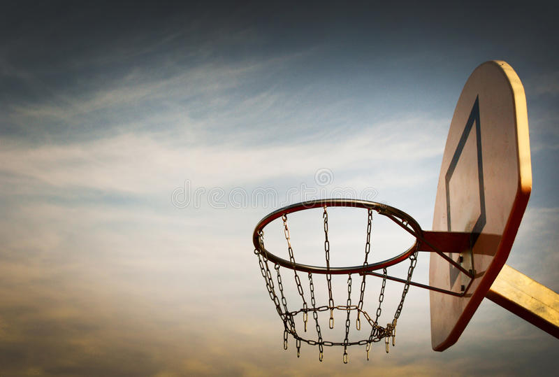Streetball stock foto