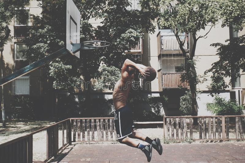 Streetball imagens de stock royalty free