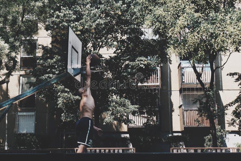 Streetball stock photography