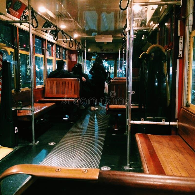 streetcar royalty-vrije stock afbeelding