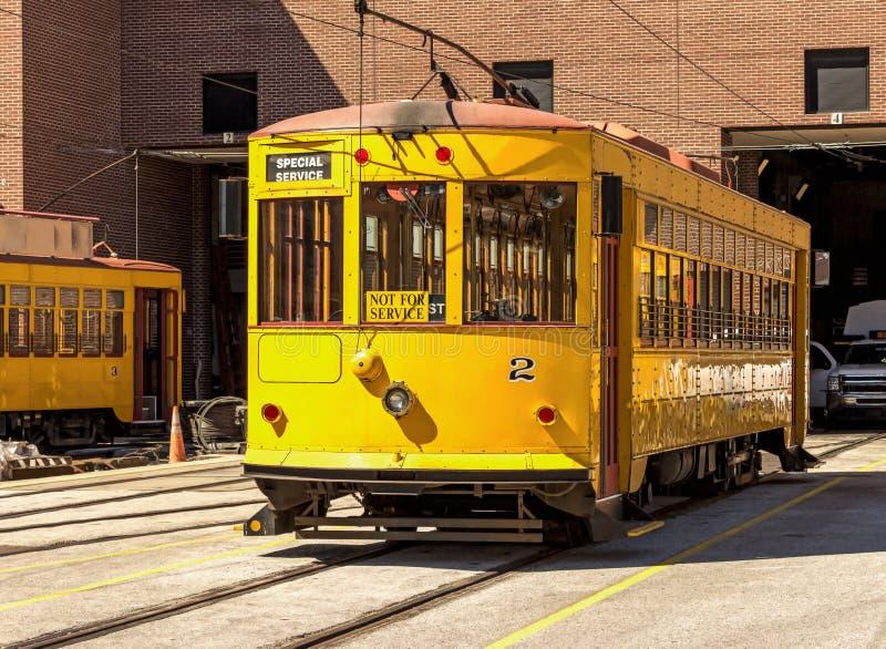 streetcar arkivfoton
