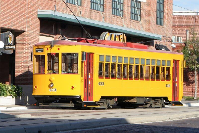 streetcar tampa arkivbild