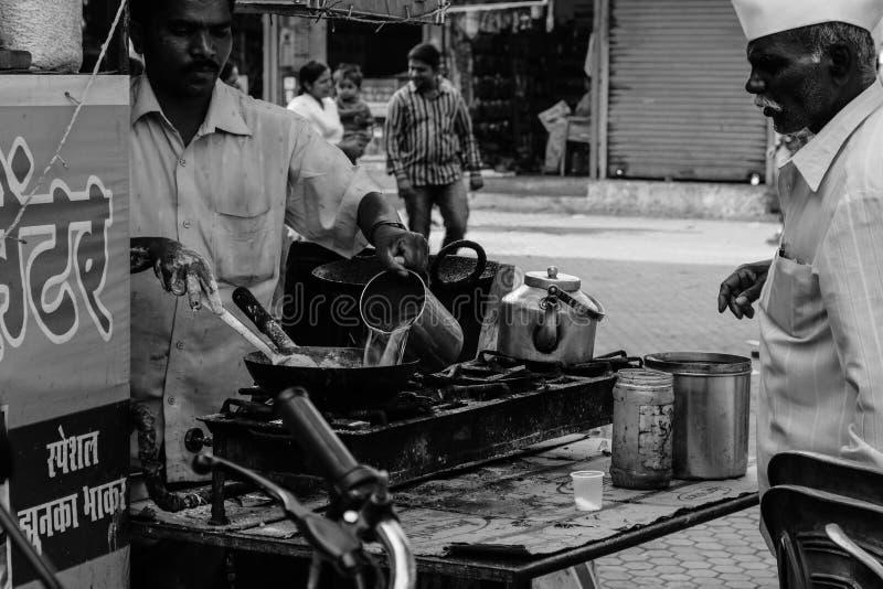 StreetChef fotografia stock libera da diritti