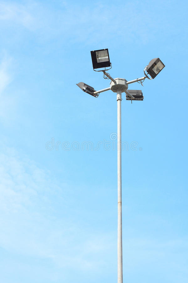 Download Streetlamp stock photo. Image of light, blue, antique - 14643342