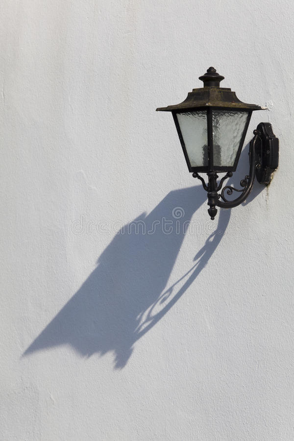 Download Streetlamp In Espelette Stock Photography - Image: 25306412