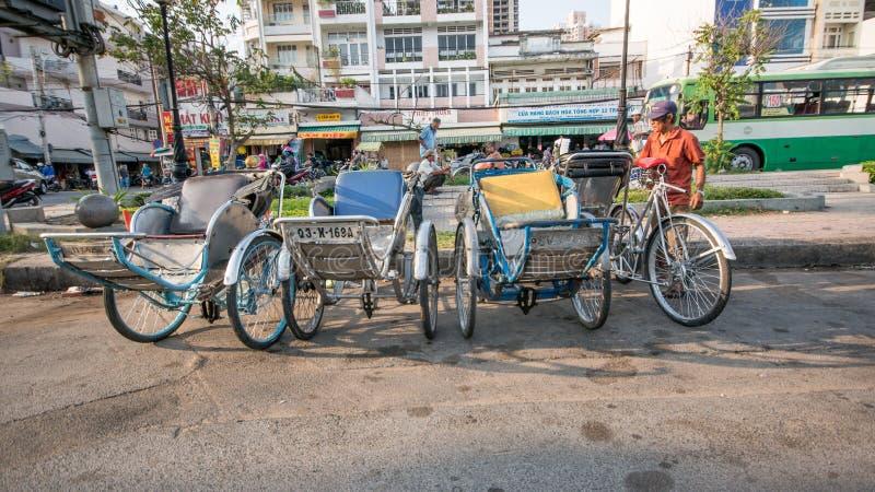 Streetlife à Ho Chi Minh Ville photographie stock libre de droits