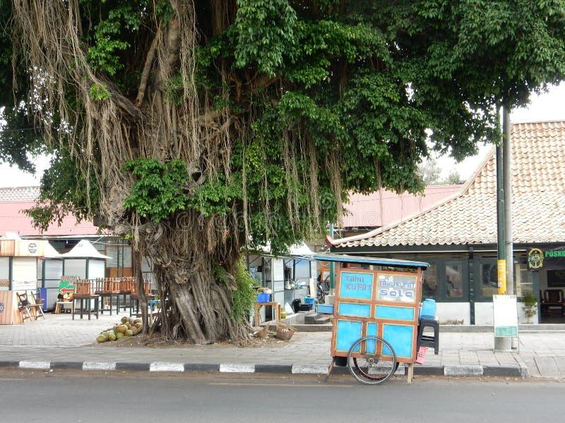 Streetlife in Yogyakarta royalty free stock photos