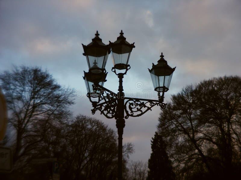 Download Streetlight stock image. Image of clouds, lamp, lantern - 154529
