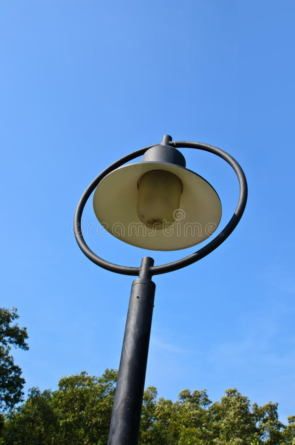 Download Streetlight  on blue sky stock photo. Image of electric - 30619828
