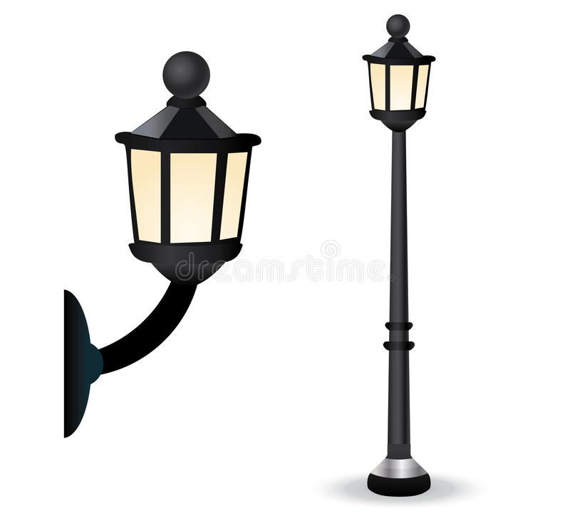 Free Streetlight Set Stock Images - 9886694