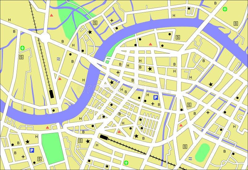Streetmap vector illustration