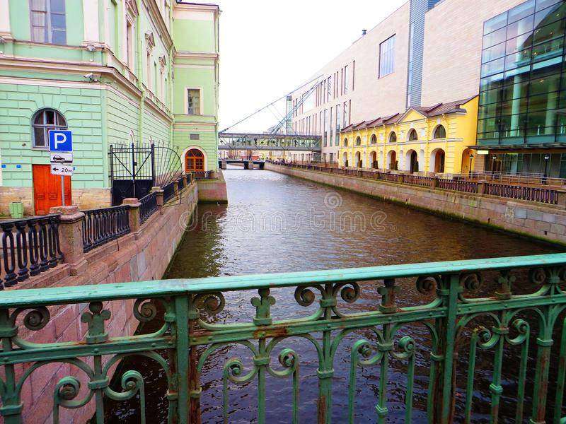 Streets of Petersburg. Russia. Tourist attraction royalty free stock photography