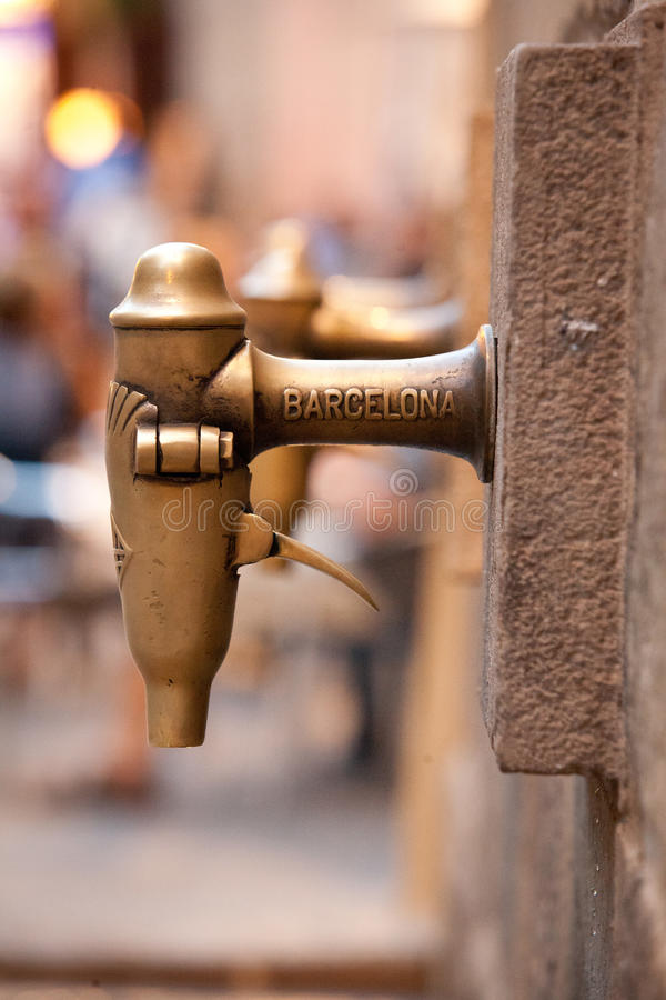 The Streets of Barcelona royalty free stock photo