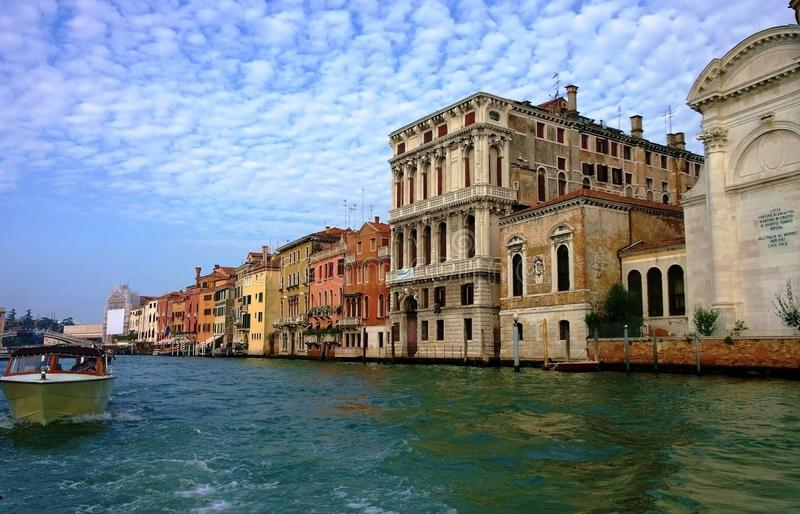 The streets and canals of Venice stock photos