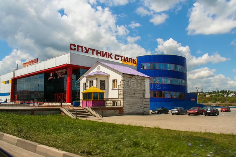 Streets of the city of Belgorod. Russian Federation. June 2012 stock images