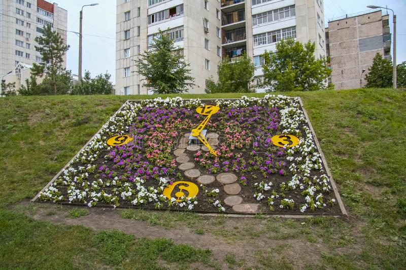 Streets of the city of Belgorod. Russian Federation. June 2012 stock photography