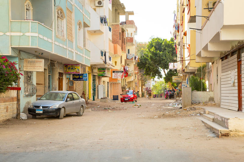 Download Streets Of City Center In Hurghada, Egypt Editorial Stock Image - Image of building, egyptian: 31004904