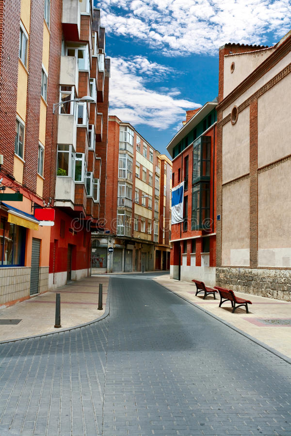 On the streets of Cordova. On the streets of old town in Cordova. Spain stock image