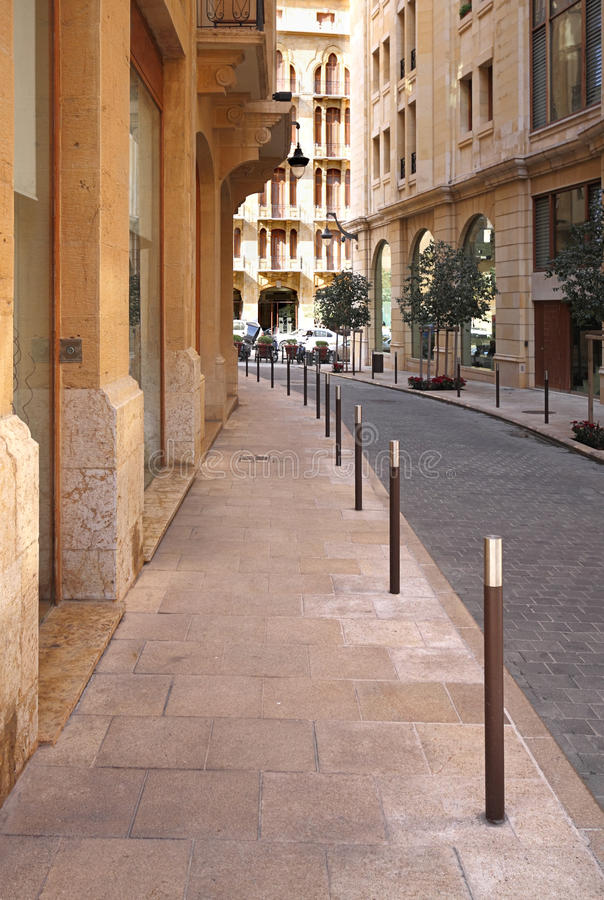 Download Streets Of Downtown Beirut (Lebanon) Stock Image - Image: 13140033