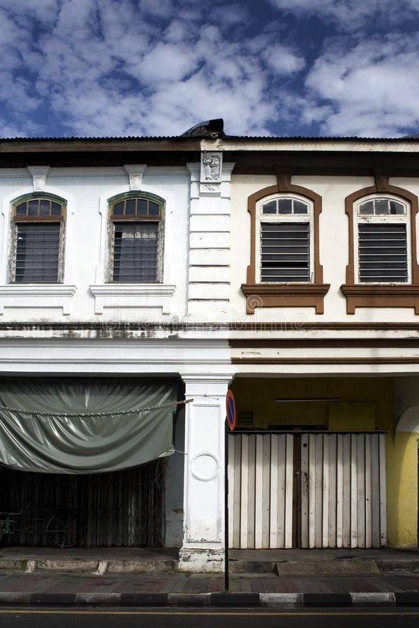 Streets of Georgetown, Penang, Malaysia royalty free stock images