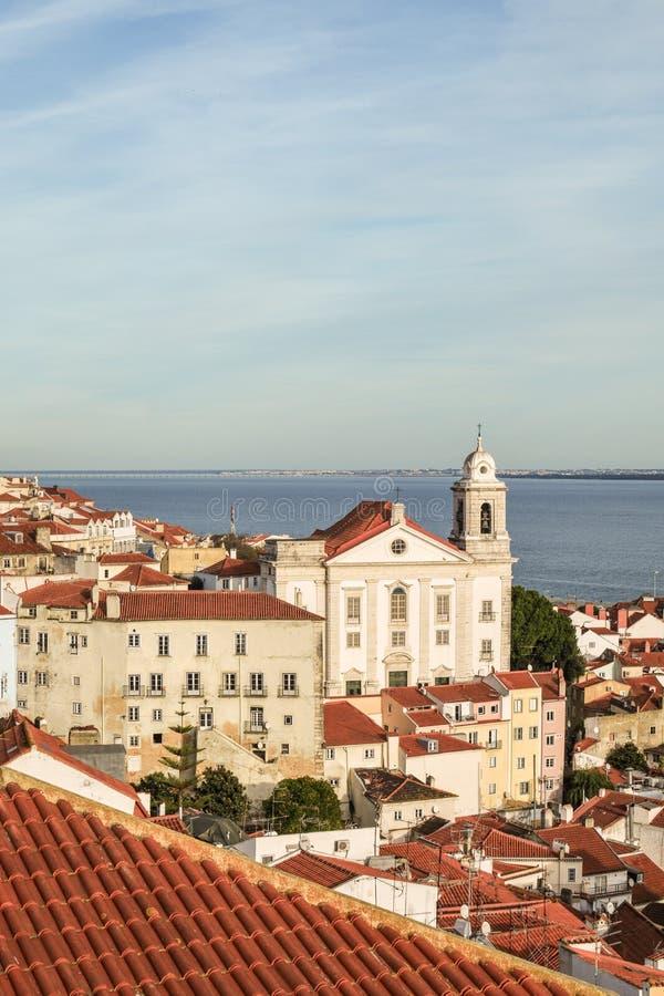 Streets of Lisbon stock photography