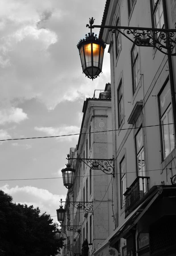 Streets of Lisbon stock image