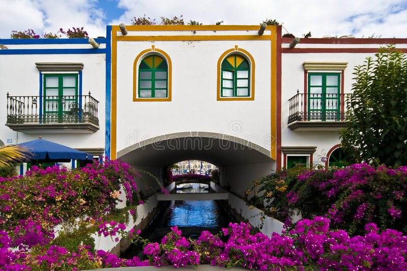Download From The Streets In Mogan, Gran Canaria Royalty Free Stock Photography - Image: 6997027