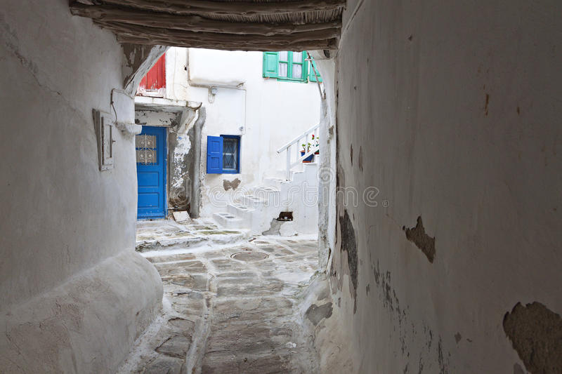Download Streets At Mykonos Island In Greece Royalty Free Stock Photography - Image: 31277517