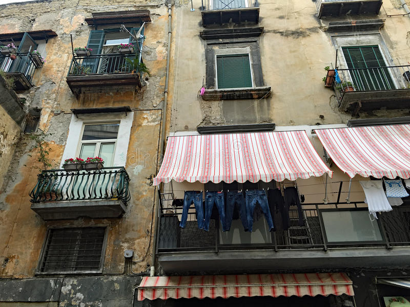 The Streets of Naples royalty free stock photos